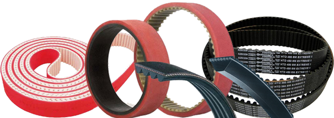 High quality power transmission belts, Industrial Belts